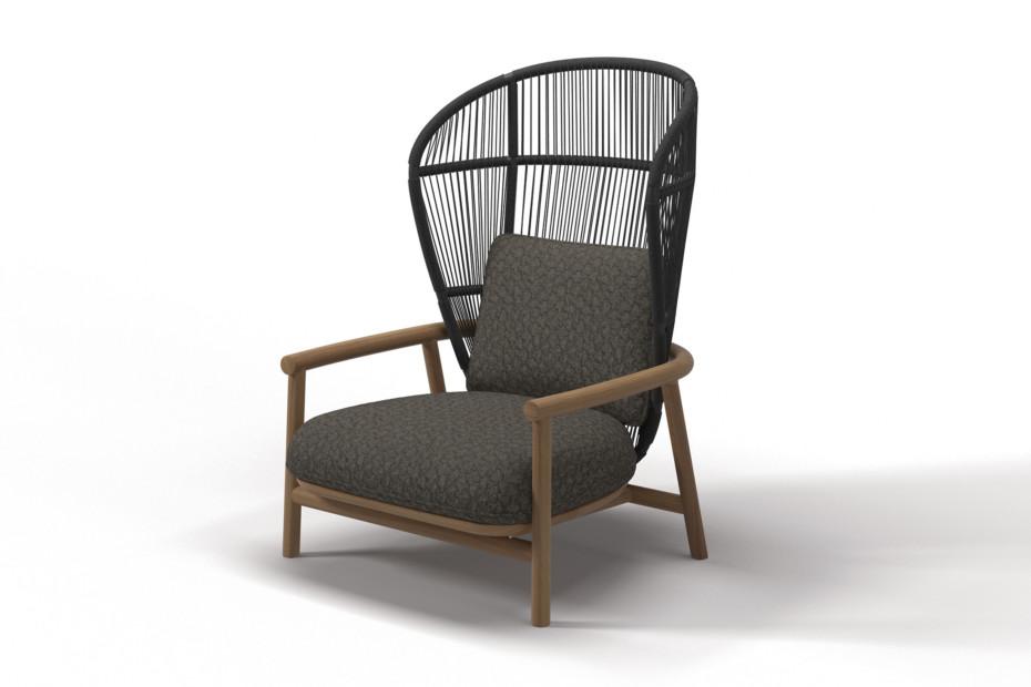 Fern High Back Lounge Sessel