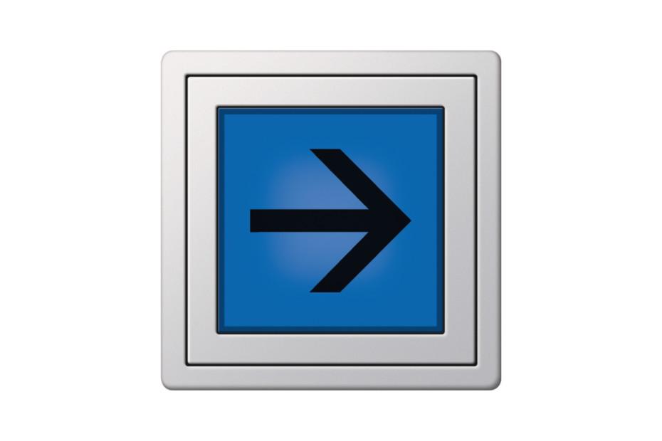 Flächenschalter LED Orientierungsleuchte