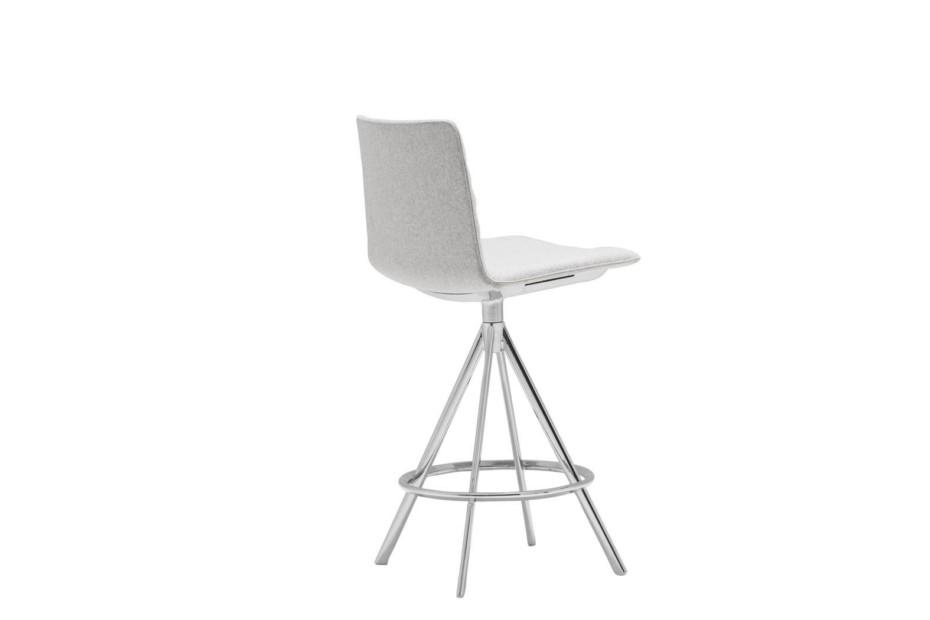 Flex bar stool with swivel base