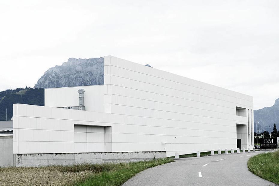 concrete skin, GMP Holding, Gmunden