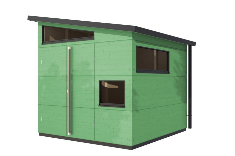 Gartenhaus Pultdach M