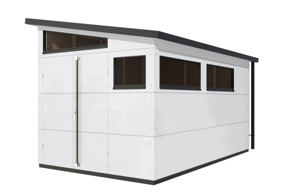 Gartenhaus Pultdach XL