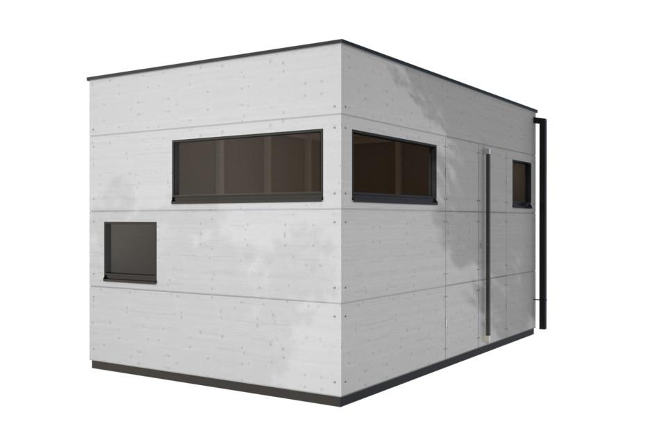 Gartenhaus Flachdach XL