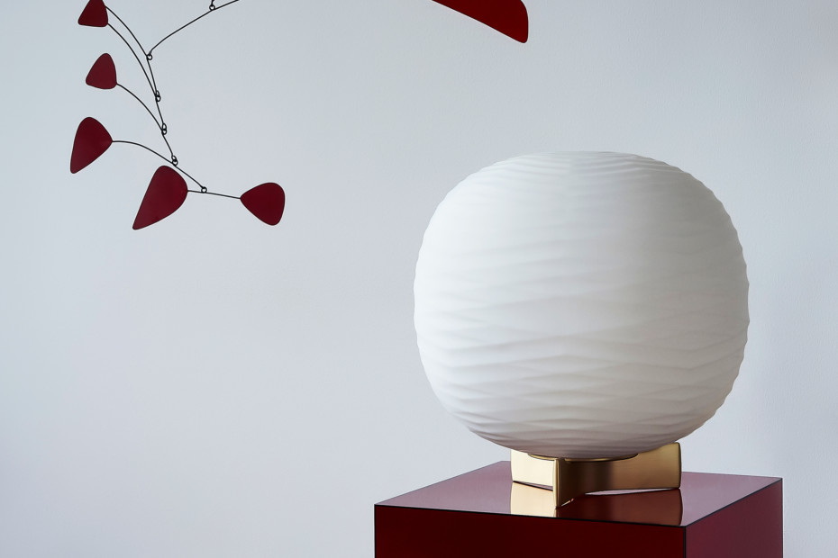 Gem table lamp