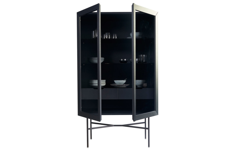 HARRI glass cabinet