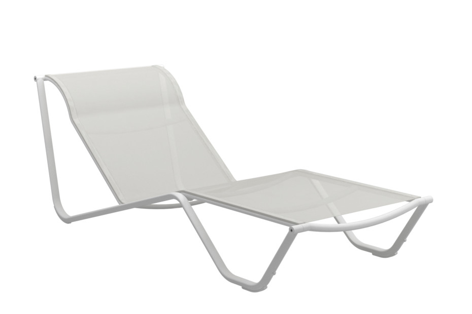 Helio fixed back lounger