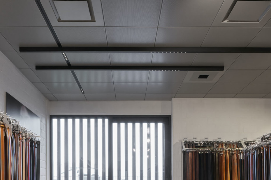 In-tile Ventilation