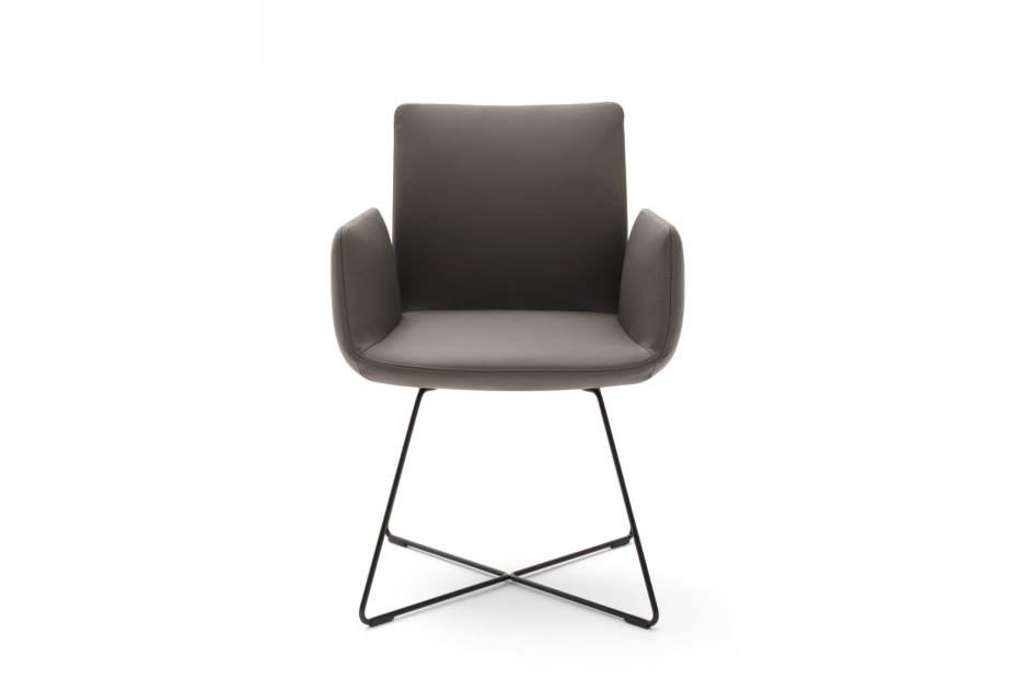 Jalis chair with wire rack