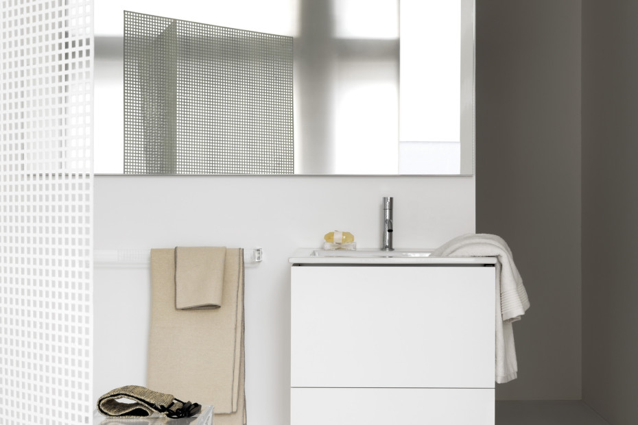 Kartell by Laufen build-in washstand slim