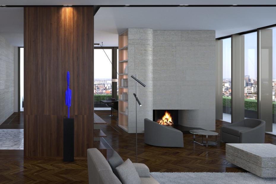 Esprit double floor
