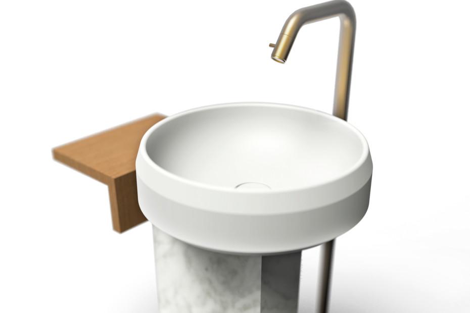 Lariana freestanding washbasin