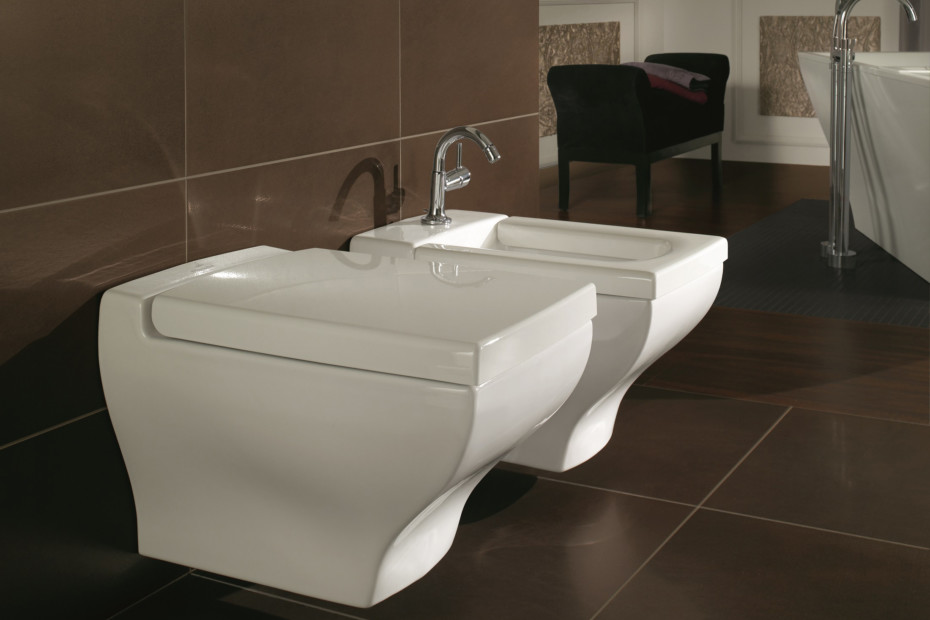 Bidet wall-mounted La Belle