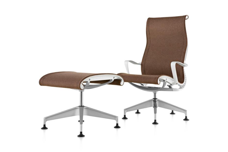 Setu Lounge Chair and Ottoman