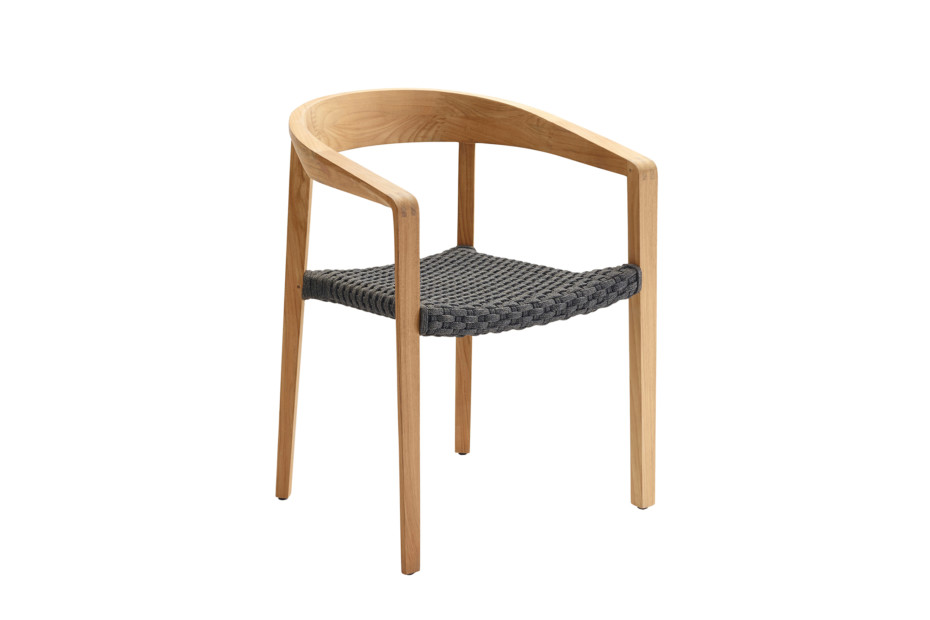 Lodge stacking chair