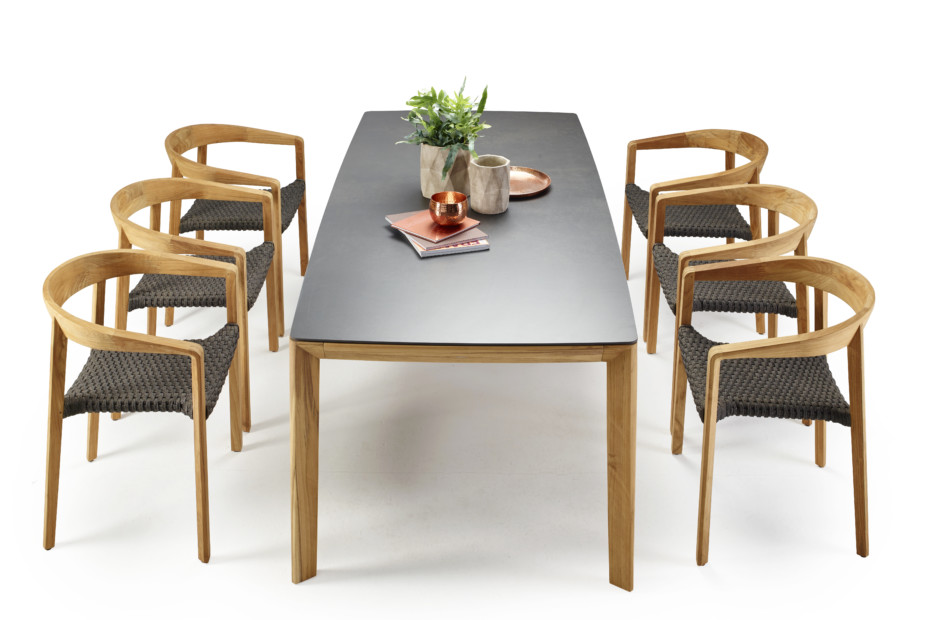 Lodge dining table