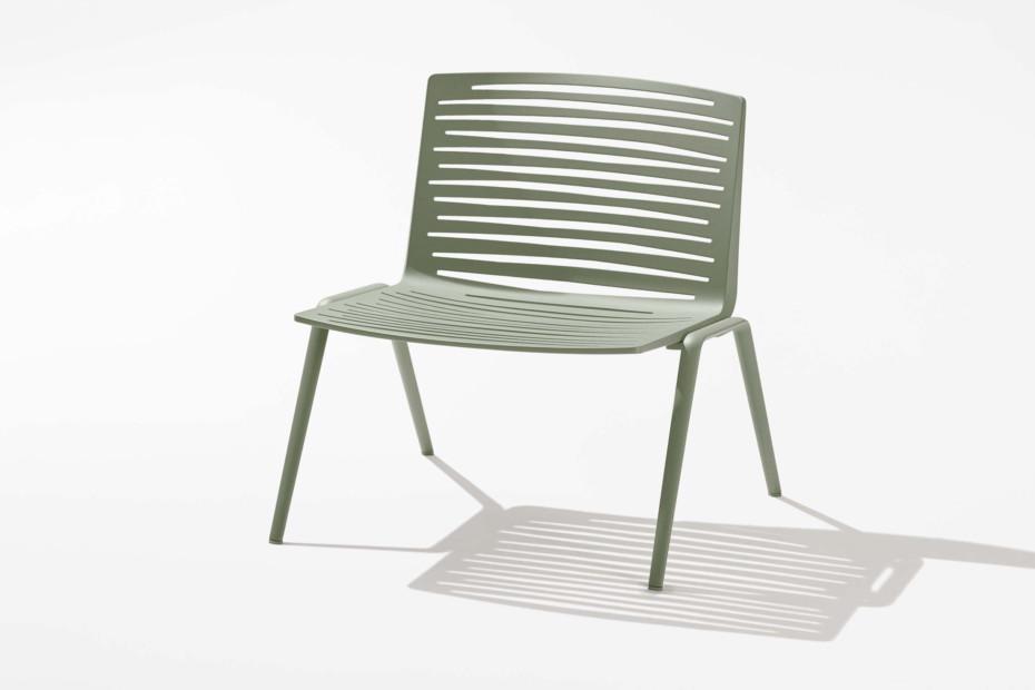 Zebra lounge chair