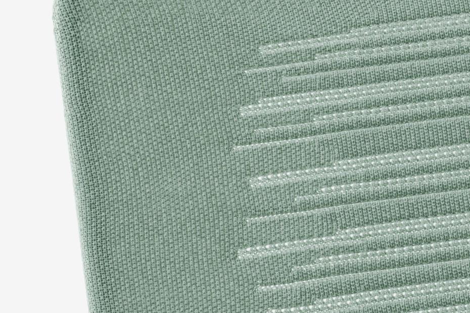Zebra Knit Loungesessel