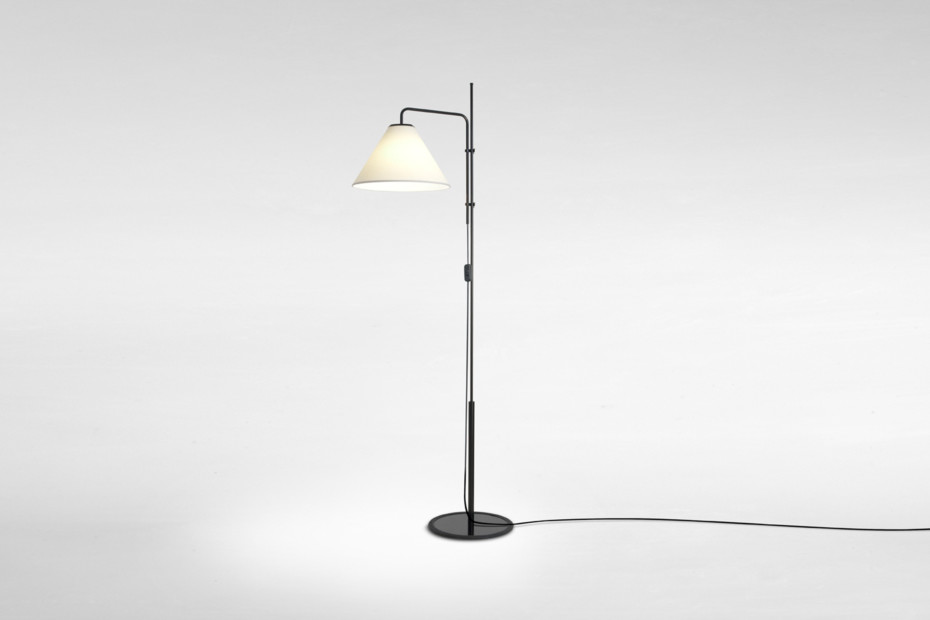 Funiculí Fabric standing lamp