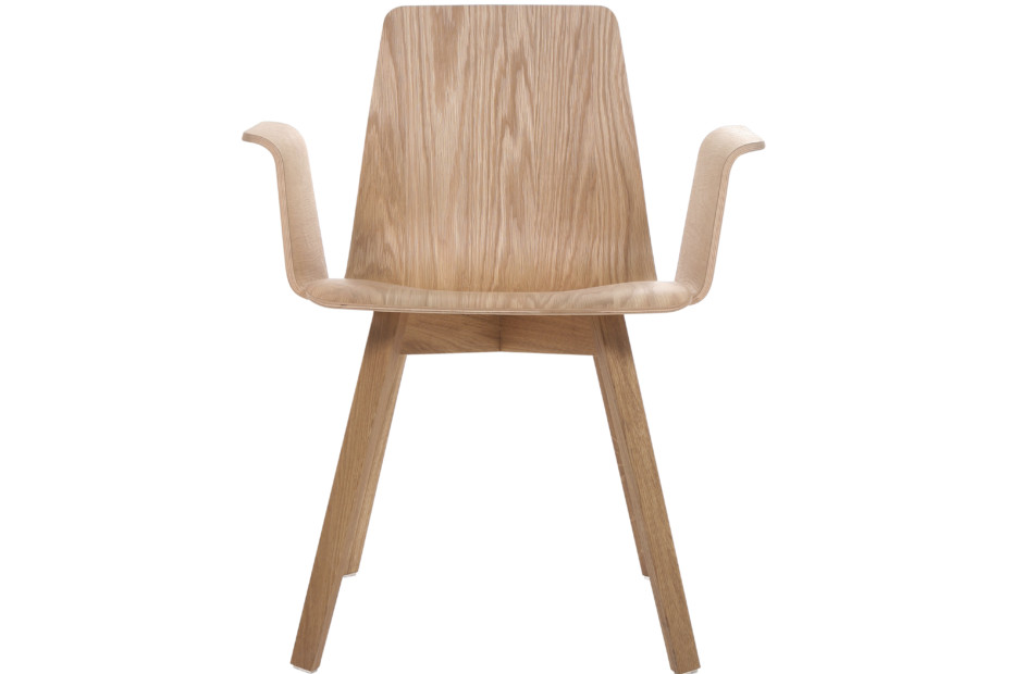 Maverick wood with armrests