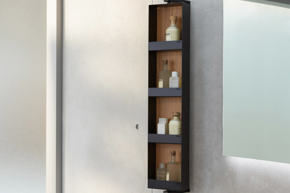 Memoria mirror shelf