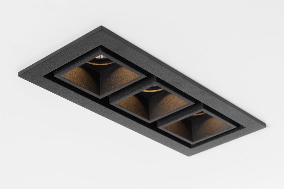Qbini LED Einbauleuchte square-out