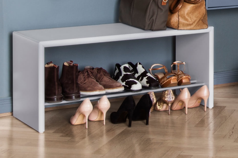 Hall shoe bench