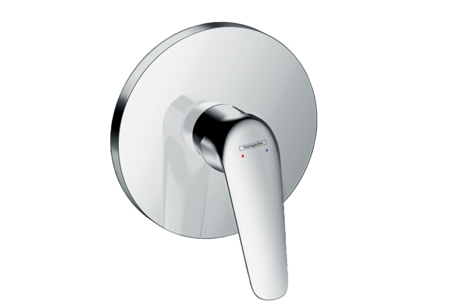 Novus Single lever shower mixer for concealed installation