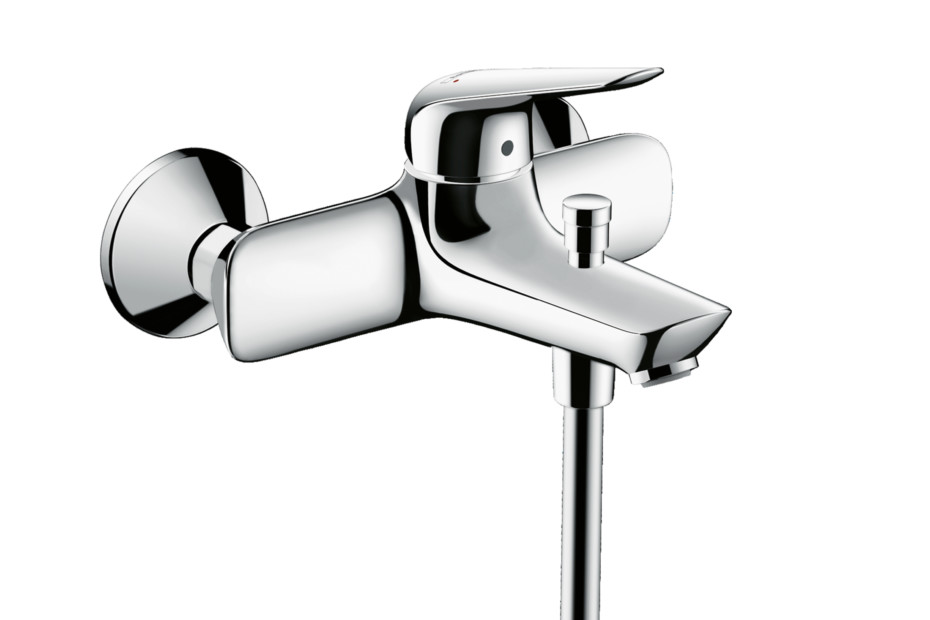 Novus Single lever bath mixer for exposed installation