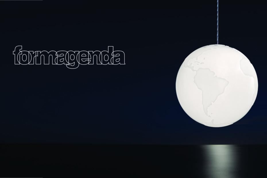 Planet Earth pendant lamp