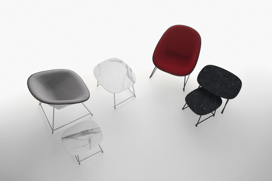 Cup lounge chair
