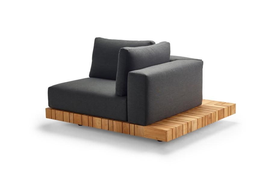 Plateau XL-module corner left + corner table
