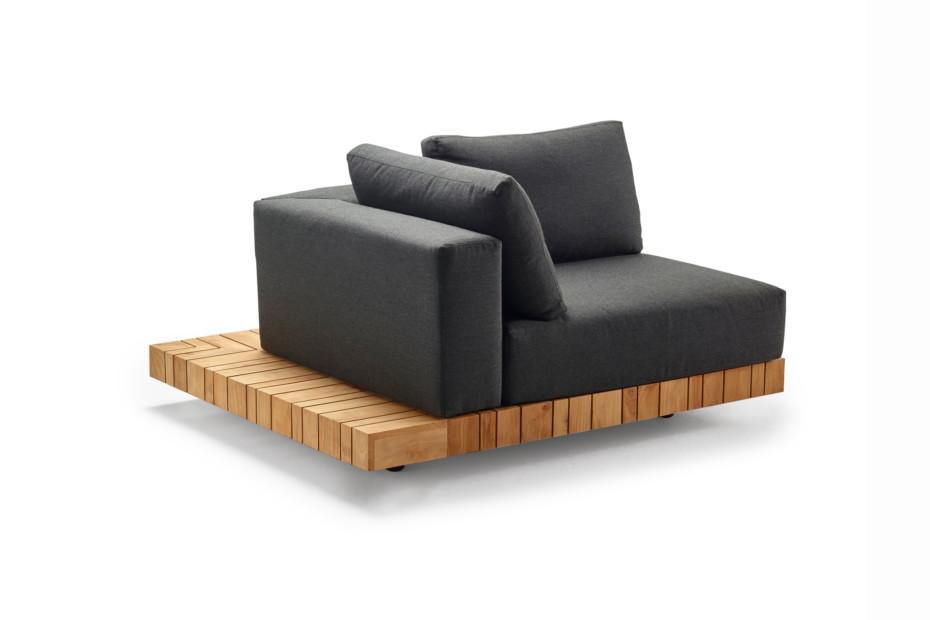 Plateau XL-module corner right + corner table
