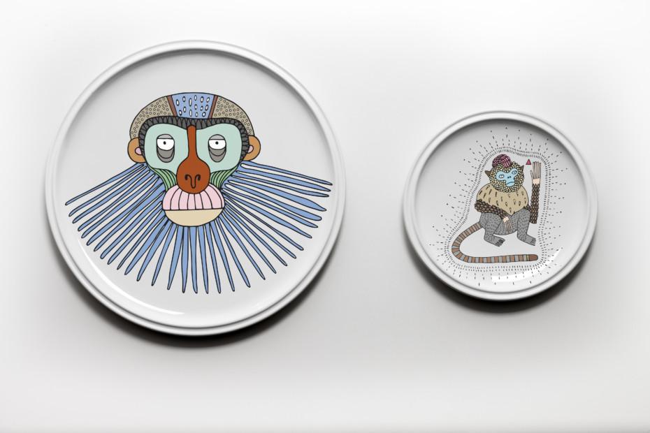 Primates Plates