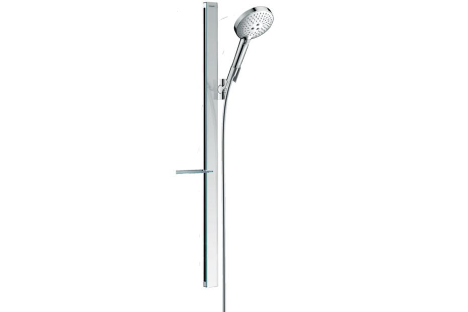 Raindance Select S Brauseset 120 3jet mit Brausestange 90 cm und Seifenschale