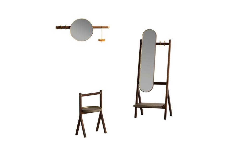 Ren mirror coat rack