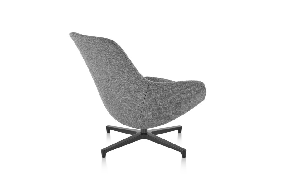 Saiba Lounge Chair und Ottoman
