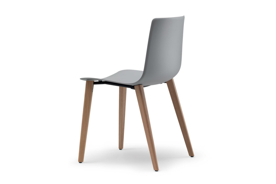 slim chair wood