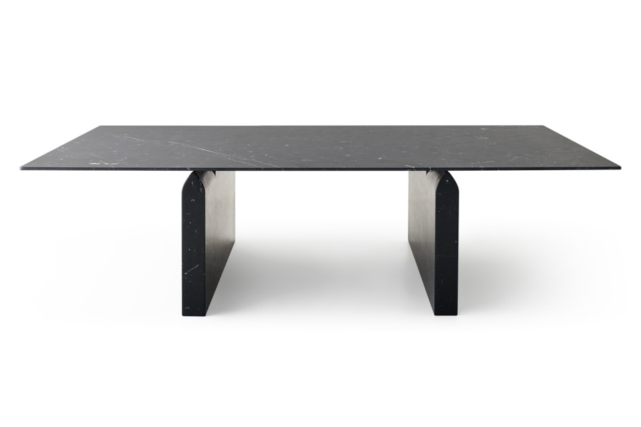Seesaw dining table