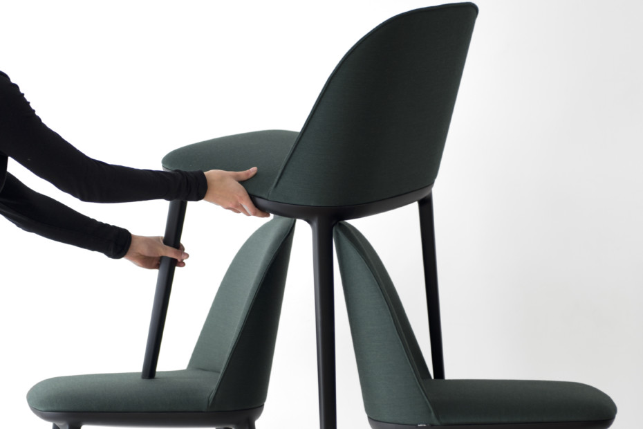 Softshell side chair