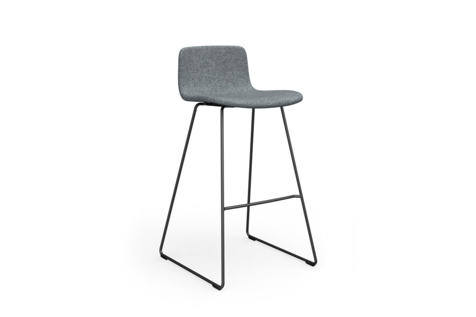Sola bar stool with sled base, non-stackable