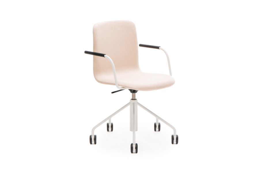 Sola conference chair with swivel base and height adjustment