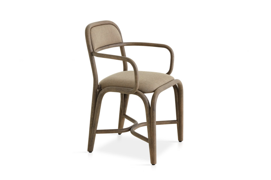 Fontal upholstered dining armchair T011 C