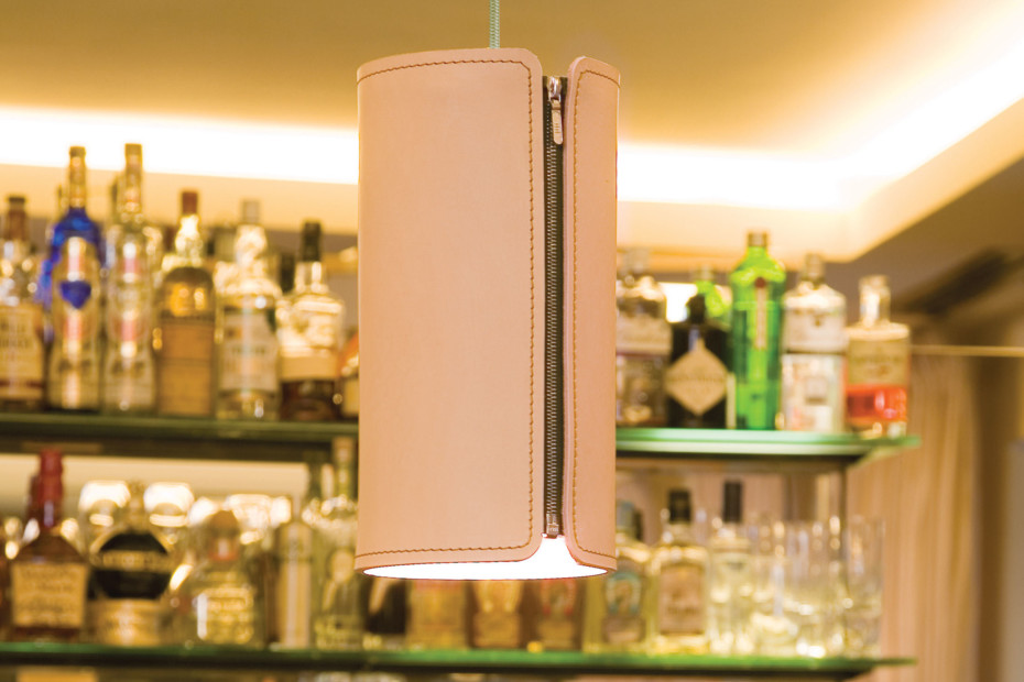 Tubo LED pendant lamp