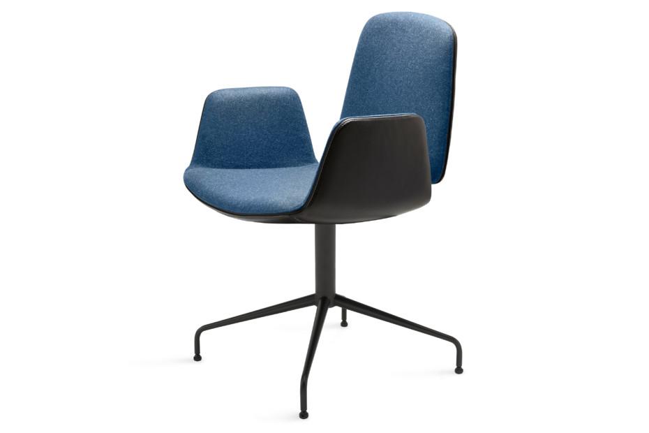 Tilda armchair with trestle leg