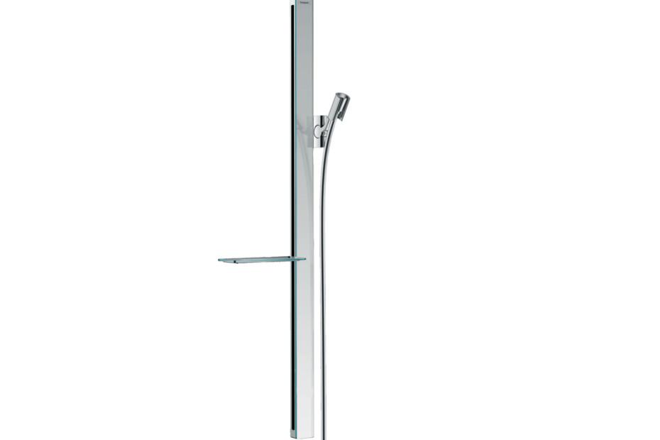 Unica shower bar E 90 cm with shower hose