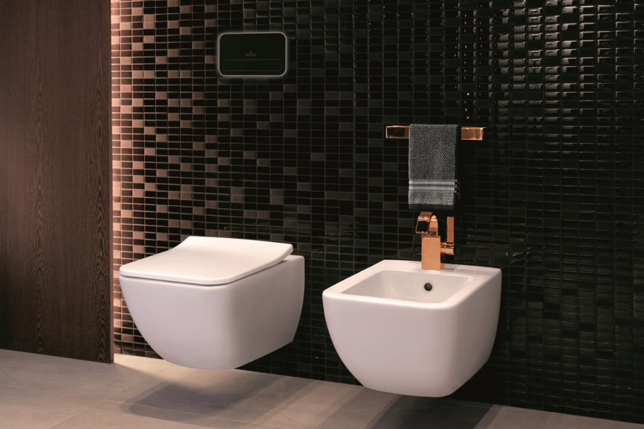 Washdown WC rimless wall-mounted Venticello