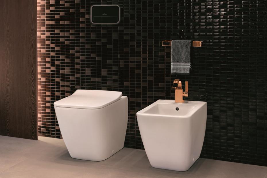 Washdown WC rimless floor-standing Venticello