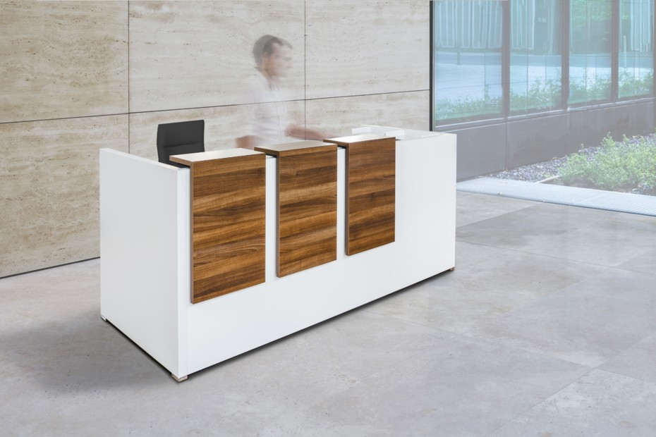 Working desk system CONCLUSION reception