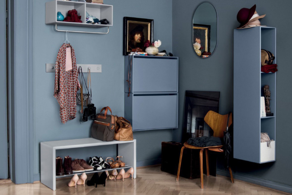 Hall shoe storage cabinet
