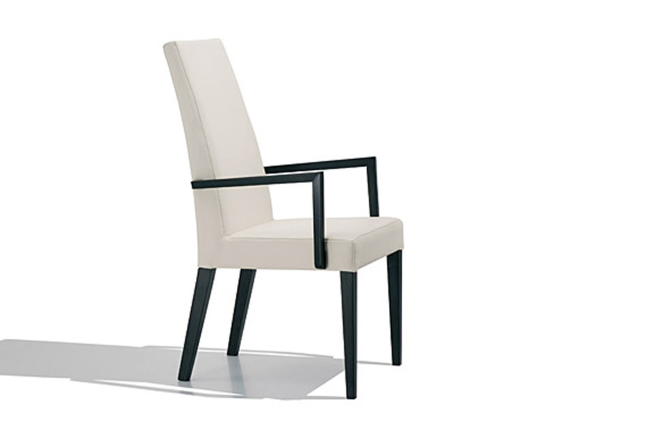 Anna Luxe chair with armrests